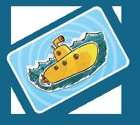 La carte 'sous-marin'